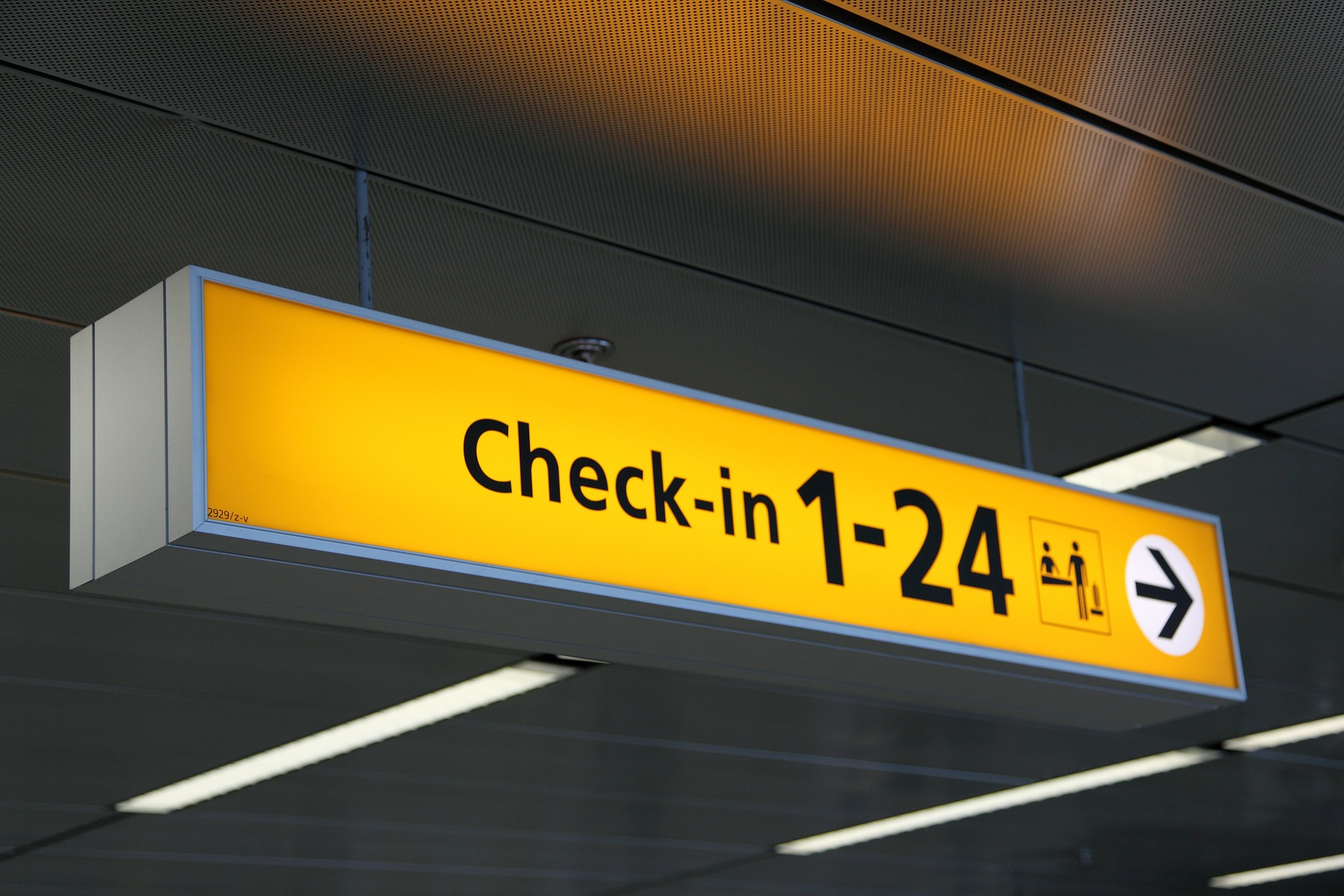 Travel checklist check-in
