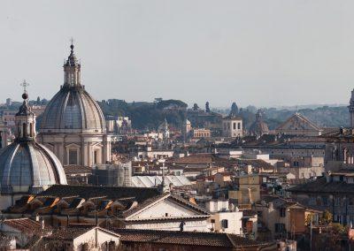 Alitalia Missionary fares Rome Panorama