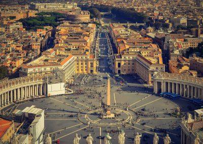 Alitalia Missionary fares St. Peters Square